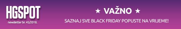 Black Friday u HGSPOTu - Saznaj sve!