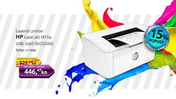 Laserski printer HP LaserJet M15a