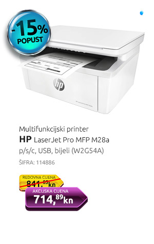 Multifunkcijski printer HP LaserJet ProMFP M28a