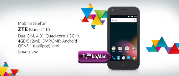 Mobilni telefon ZTE Bl. L110