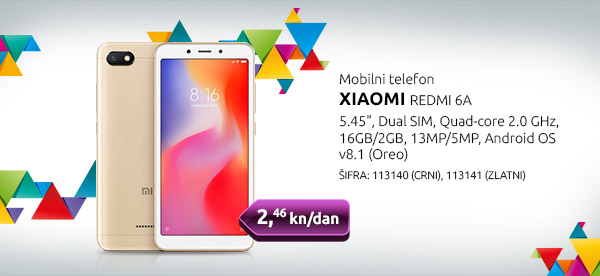 Mobilni telefon XIAOMI REDMI 6A