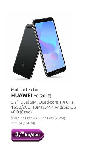 Mobilni telefon HUAWEI Y6 (2018)