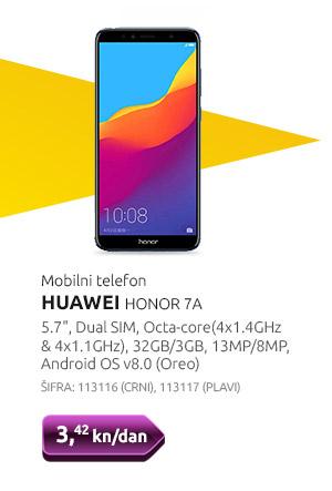 Mobilni telefon HUAWEI HONOR 7A