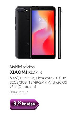 Mobilni telefon XIAOMI REDMI 6