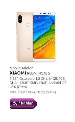 Mobilni telefon XIAOMI REDMI NOTE 5