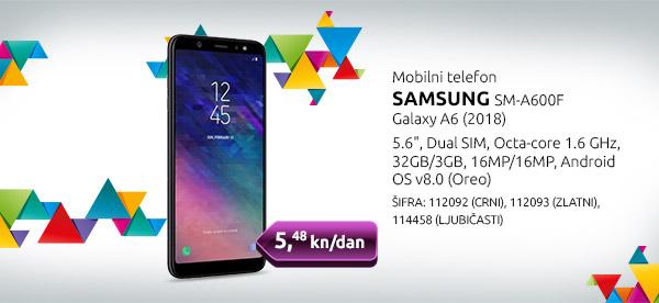 Mobilni telefon SAMSUNG J6+, 2018 (J610F)