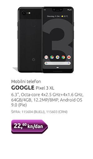 Mobilni telefon GOOGLE Pixel 3 XL