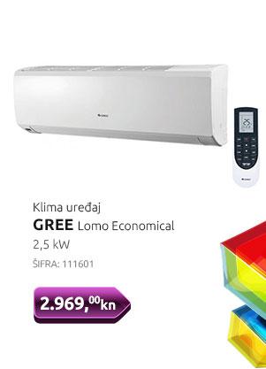 Klima uređaj GREE Lomo Economical