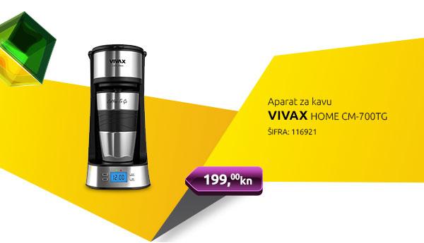 Aparat za kavu VIVAX HOME CM-700TG